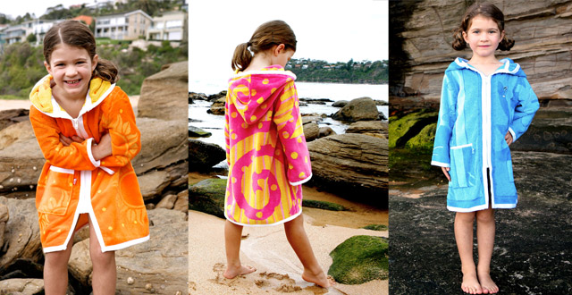 Kids and Womens Swim Robes and Parkas by Terry Rich