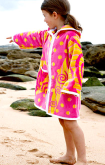 Swim parka styles. Sleeved, sleeveless, ponchos & more.